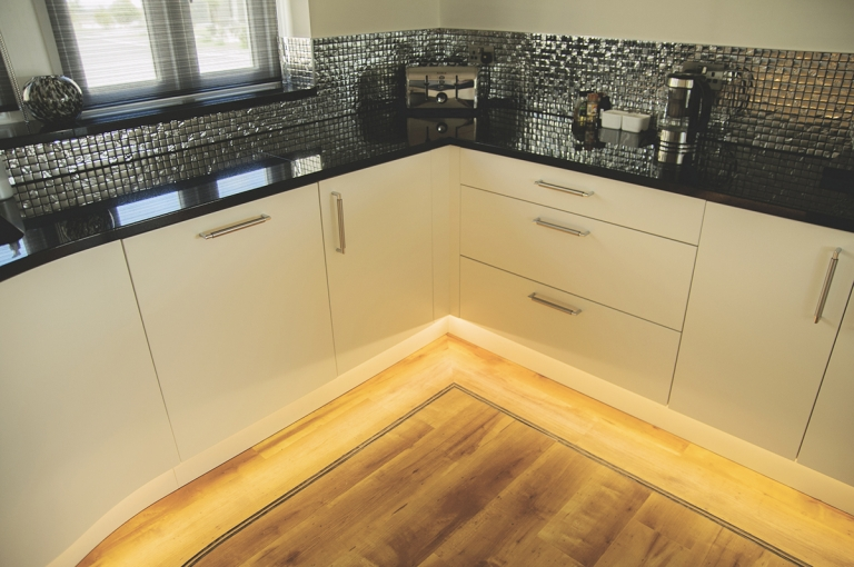 Karndean Inlays Kitchen Office Living Room And Hall