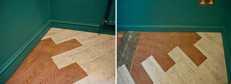 Diagonal Laying Pattern Karndean Knight Tile Light